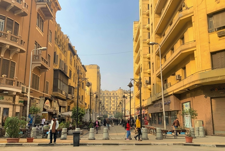 新旧が入り混じるエジプトのマーケット事情