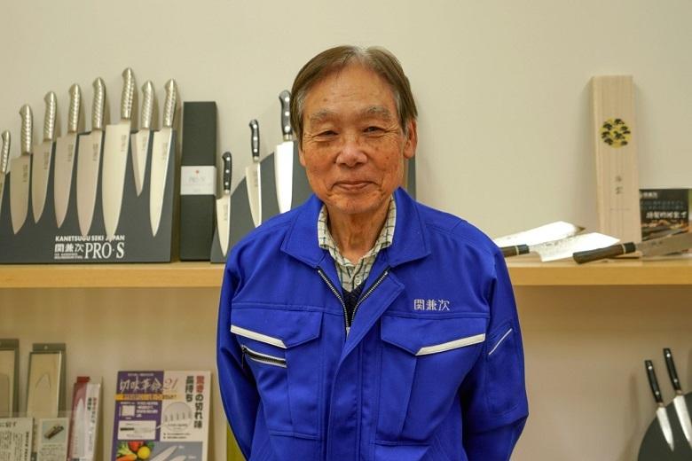 日本刀に込められた伝統技術と先端技術が融合した刃物で世界を驚かす。関兼次刃物株式会社