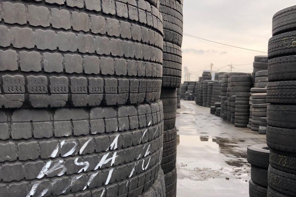 使用済みタイヤの再生利用ビジネス